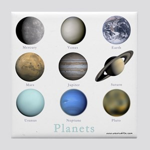 Planets-10x10_apparel Tile Coaster